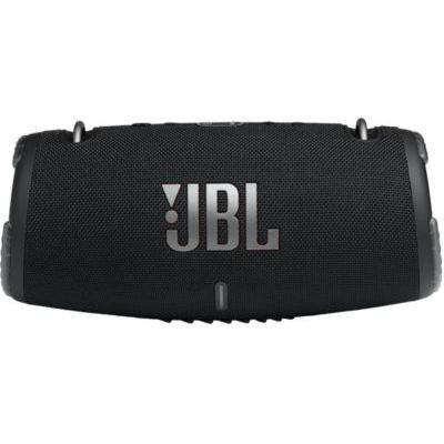 image JBL Xtreme 3 – Enceinte Bluetooth portable – Étanche à l'eau / poussière – Avec chargeur pour appareils intégré – Autonomie 15 hrs – Noir
