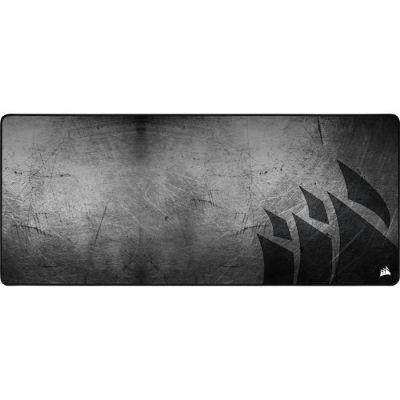 image Corsair MM350 PRO Tapis de Souris Gaming, Tissu Résistant aux Éclaboussures Premium (Surface de 93 cm sur 40 cm, Textile Micro-Maille, Caoutchouc Épaisse 4 mm, Base Antidérapante) Élargi XL, Noir/Gris