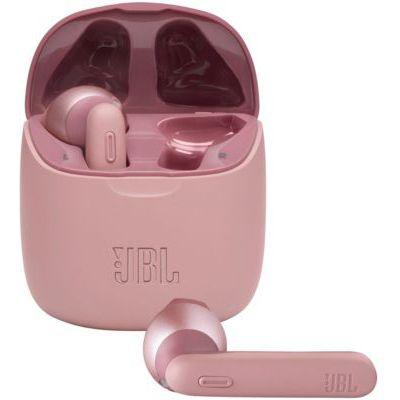 image JBL TUNE 225TWS – Écouteurs intra-auriculaires véritablement sans fil – Bluetooth – Autonomie jusqu'à 25 heures – Étui de recharge pratique et élégant – Couleur : rose