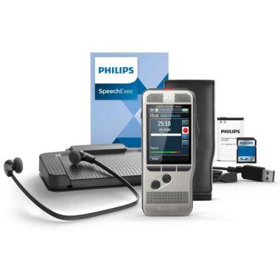 image Philips Kit de Dictée/Transcription DPM7700 version SpeechExec abonnement de 2 ans