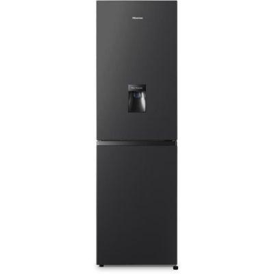 image Hisense RB316D4WBF Réfrigérateur congélateur bas avec distributeur d'eau - 240L (159L + 81L) - froid statique - classe A+ - L55x H