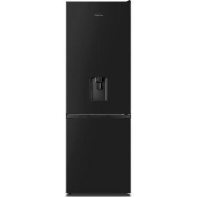 image HISENSE - RB372N4WB1 - Réfrigérateur congélateur bas - 287L (207L+80L) - froid ventilé total - A+ - L59,5x H178,5 - Noir