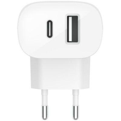 image Chargeur secteur Belkin USB-C + USB-A 32W