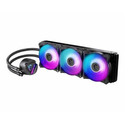 image VENT MSI MAG CoreLiquid 360R RGB 7570 Refroidisseur de CPU Noir MAG Core Liquid 360R 360 mm