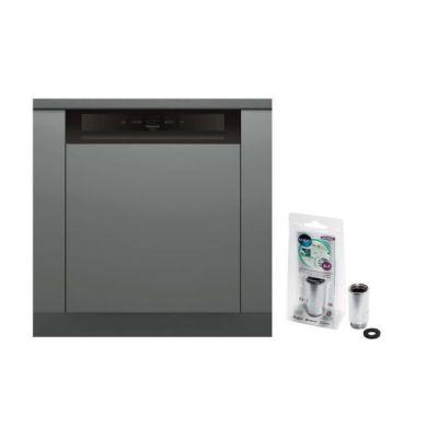 image Pack MWB103 Anticalcaire magnétique Vanne anti débordements + Lave-vaisselle HOTPOINT HBC2B+26B - 14 couv - Moteur induction - 46dB
