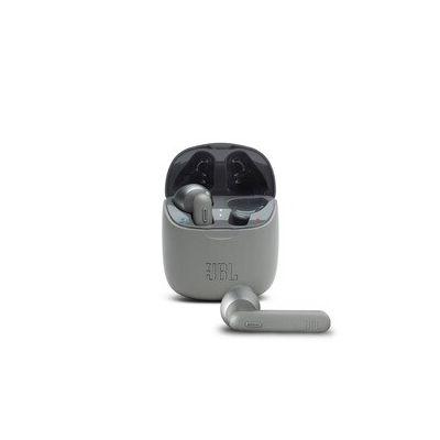 image JBL TUNE 225TWS – Écouteurs intra-auriculaires véritablement sans fil – Bluetooth – Autonomie jusqu'à 25 heures – Étui de recharge pratique et élégant – Couleur : gris
