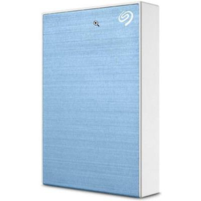 image Disque dur externe Seagate 5To One Touch portable Bleu