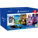 image produit Mega Pack 3 Sony Playstation VR + Camera MK4 + VR Worlds + Moss + Astrobot + Everybody's Golf + Blood & Truth