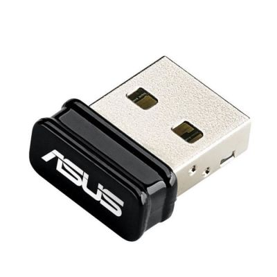 image ASUS - USB Clé Wi-Fi / Adaptateur Wi-FI N150 -N10 Nano B1 - Revêtement plaqué or