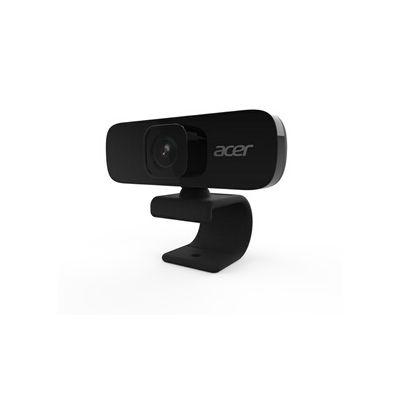 image Acer Webcam de conférence Full HD (5 mégapixels, 30 fps, Grand Angle 70 °, Rotation d'image 360 °, Micro Suppression du Bruit intégré, Mode privé, Compatible avec Win, Linux, Mac et Android) Noir