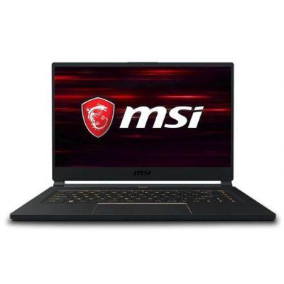 image MSI PC Portable Gamer - GS65 Stealth 9SD-1676FR - 15,6- FHD 144Hz - Core i7-9750 - 16 Go - Stockage 512 Go SSD - Windows 10 - Noir
