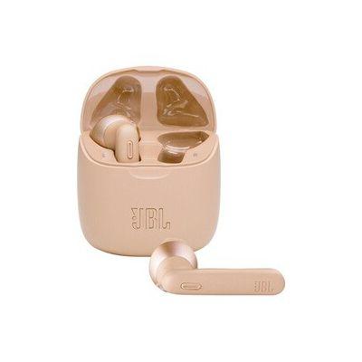 image JBL TUNE 225TWS – Écouteurs intra-auriculaires véritablement sans fil – Bluetooth – Autonomie jusqu'à 25 heures – Étui de recharge pratique et élégant – Couleur : or