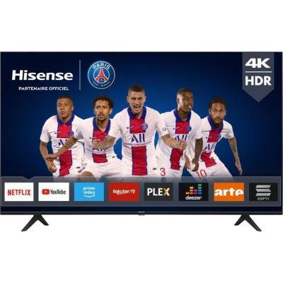 image HISENSE 58AE7000F - TV LED 58- (146cm) UHD 4K - HDR 10+ - Ecran sans bord - Smart TV - 3xHDMI - Classe énergétique A