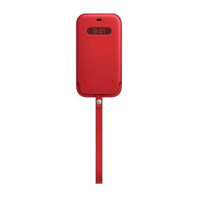 image Apple Housse en Cuir avec MagSafe (pour iPhone 12 Mini) - (Product) Red