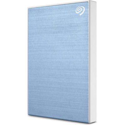 image Seagate One Touch 1To, Disque dur externe HDD –Bleu clair, USB3.0, pour PC portable et Mac, Abonnement de 4 mois à la formule Adobe Creative Cloud, et services Rescue valables 2 ans (STKB1000402)