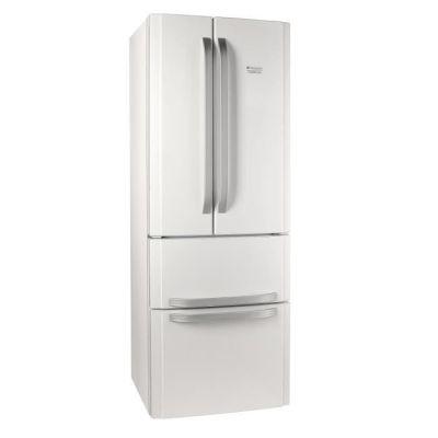 image HOTPOINT E4DWC1 - Réfrigérateur multi-portes - 399L (292+107) - A+ - 70x195.5 - Blanc
