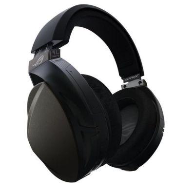 image ASUS ROG Strix Fusion Wireless Binaural Bandeau Noir - Casques Audio (Console de Jeu/PC/Jeux, Binaural, Bandeau, Noir, PC, Playstation 4, sans Fil)