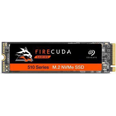 image Seagate FireCuda 510 500 Go, SSD interne hautes performances, PCIe 3e génération ×4 NVMe 1.3, pour PC de bureau et portable de jeu, services Rescue valables 3 ans (ZP500GM3A001)