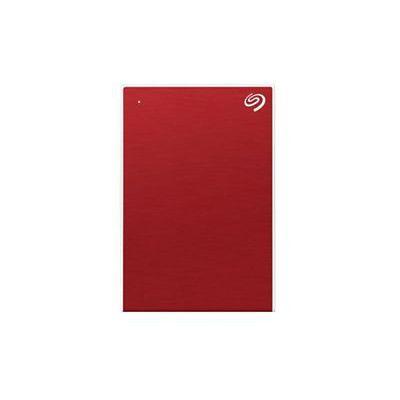 image Seagate One Touch 2To, Disque dur externe HDD – Rouge, USB3.0, pour PC portable et Mac, Abonnement de 4 mois à la formule Adobe Creative Cloud, et services Rescue valables 2 ans (STKB2000403)