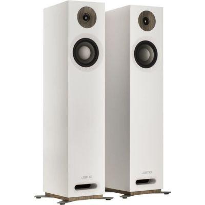image Jamo S 805 W par 160W Blanc - Hauts-parleurs (2.0 canaux, avec Fil, 160 W, 49-26000 Hz, 8 Ohm, Blanc)