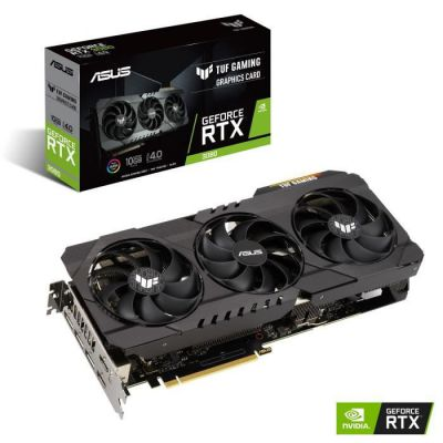 image Carte graphique ASUS TUF Gaming GeForce RTX 3080 - 10 Go (TUF-RTX3080-10G-GAMING)