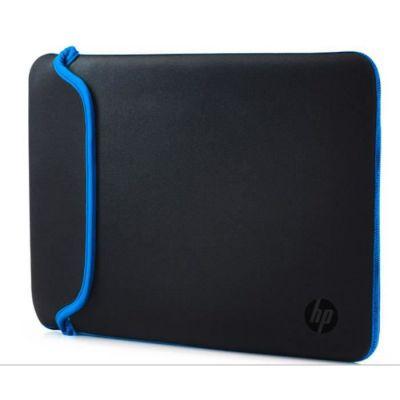 """image HP Housse de Protection Réversible pour Ordinateur Portable 14"""" (Néoprène) - Noir/Bleu"""