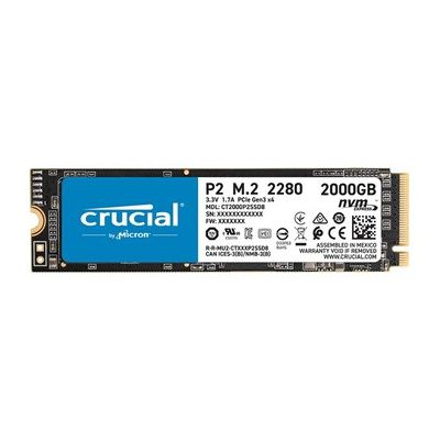 image SSD interne Crucial SSD Crucial P2 de 1 To (M.2 NVMe - CT1000P2SSD8)