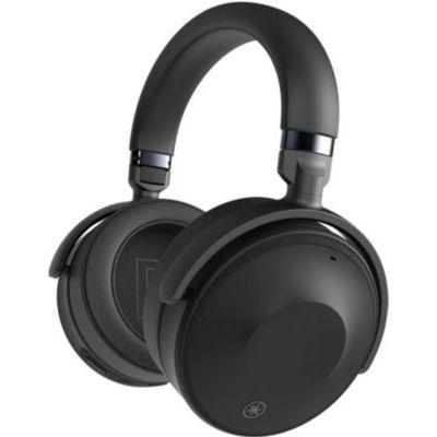 image Yamaha YH-E700A écouteurs supra-auriculaires sans fil noir – Casque à suppression de bruit active avancée avec autonomie de 35h et fonctionnalité mains libres