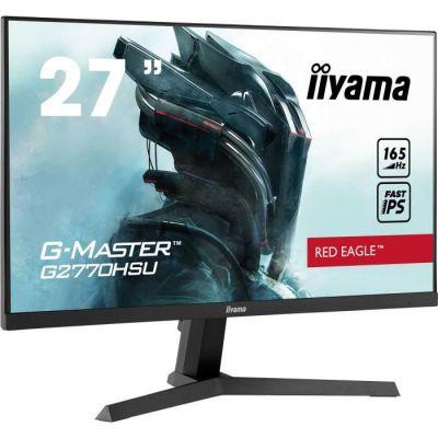 "image Ecran iiyama 27"" G-Master G2770HSU-B1 Red Eagle, Fast IPS, FHD@165Hz, 0,8ms, HDMI/DP/USB, Black Tuner, freesync, speakers"