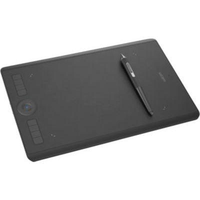 image Wacom Intuos Pro Large - Tablette Graphique à Stylet Professionnelle - Compatible avec Mac, Windows et de Nombreux logiciels de création - X Pouces - Noir