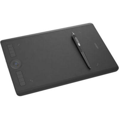 image Wacom Intuos Pro Medium - Tablette Graphique à Stylet Professionnelle (Pro Pen 2) + Paper Clip Finetip