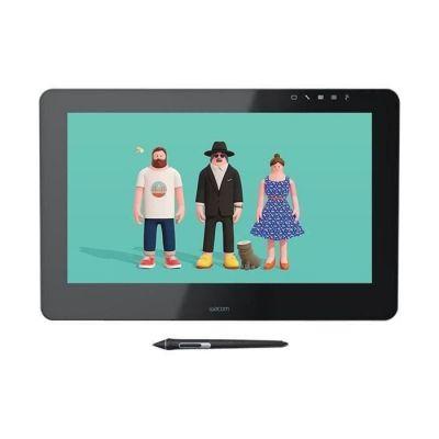 image Wacom Cintiq Pro 16 - Ecran interactif - Tablette graphique à stylet (16 pouces, avec écran et pieds) Stylet Wacom Pro Pen 2 et adaptateur Link Plus inclus - Compatible avec Windows et Apple