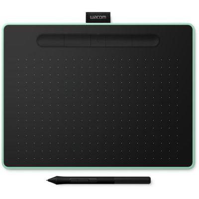 image produit Wacom Intuos M Bluetooth, Pistache - Tablette graphique sans fil avec stylet (avec 3 logiciels créatifs)