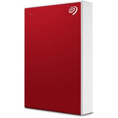 image Seagate One Touch 4 To, Disque dur externe HDD – Rouge, USB 3.0 (STKC4000403)