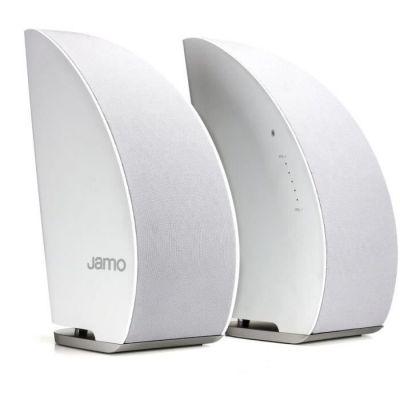 image Jamo DS5 Enceintes HiFi sans Fil,40W, Blanc