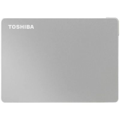 image TOSHIBA EUROPE Disque dur Externe Canvio Flex 1To Silver 2.5p