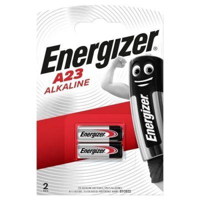 image Pack de 2 piles alcalines miniatures A23 (12V)