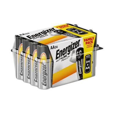 image Piles Alcalines Energizer Power AA/LR6, pack de 24 Value Box