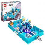image produit LEGO Disney Princess 43189 La Reine des neiges 2 Les aventures d'Elsa et Nokk dans un livre de contes, Jouet créatif pour enfants - livrable en France