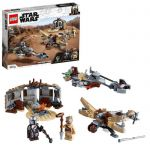 image produit LEGO Star Wars 75299 The Mandalorian Conflit à Tatooine Jeu de construction avec la figurine de Baby Yoda The Child, saison 2 - livrable en France