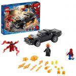 image produit LEGO Marvel 76173 Spider-Man et Ghost Rider contre Carnage avec une voiture à construire et des figurines, jeu de super héros - livrable en France
