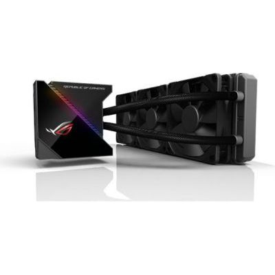 image ASUS - 90RC0020-M0UAY0 - In One ROG RYUJIN - Kit Watercooling All - 3 Ventilateurs 360 mm - Interface OLED