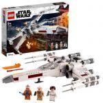 image produit LEGO Star Wars75301 Le X-Wing Fighter de Luke Skywalker Jeu de combat avec la princesse Leia et la figurine de droïde R2-D2 - livrable en France