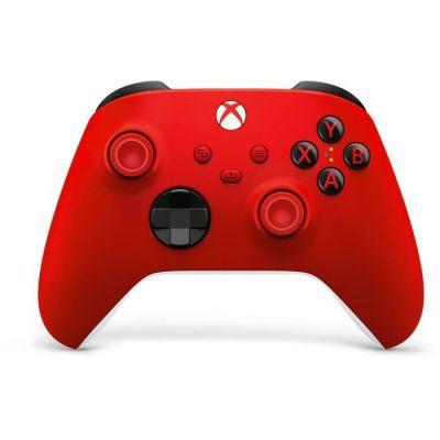 image Manette Xbox rouge sans Fil - Pulse Red