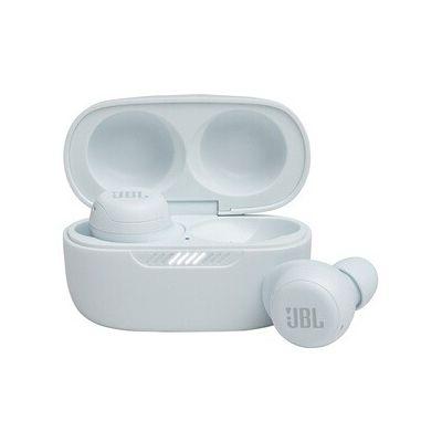 image JBL LIVE FREE NC+ TWS – Écouteurs sans fil à Réduction de Bruit active avec étui de recharge – Étanches à l'eau – Blanc