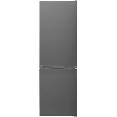 image SHARP Réfrigérateur Combiné, 341 L, Linox