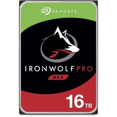 """image Seagate IronWolf Pro 16 To, Disque dur interne NAS HDD, CMR 3,5"""" SATA 6 Gbit/s, 256 Mo de mémoire cache, pour NAS RAID, services Rescue valables 3 ans (ST16000NE000)"""