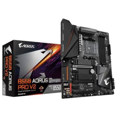 image Carte mère Gigabyte B550 AORUS PRO V2  (AMD B550 - Socket AM4 - ATX)