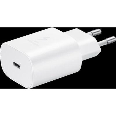 image Samsung Chargeur Secteur Rapide 25W, Port USB Type C (sans câble)
