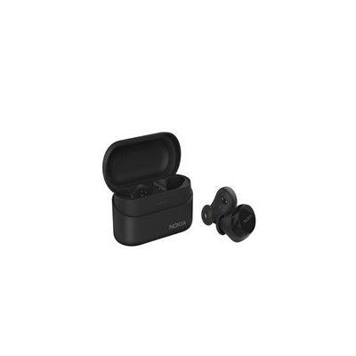 image Nokia BH-405 Écouteurs sans Fil Power Earbuds Lite, 35 Heures de Lecture, IPX7 étanche, Compatible Bluetooth, Boîtier de Charge sans fil Compact, Noir